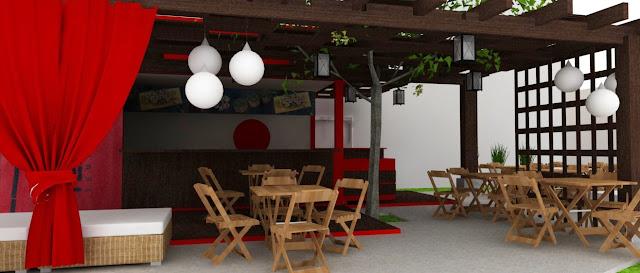 Container Restaurant Interior design