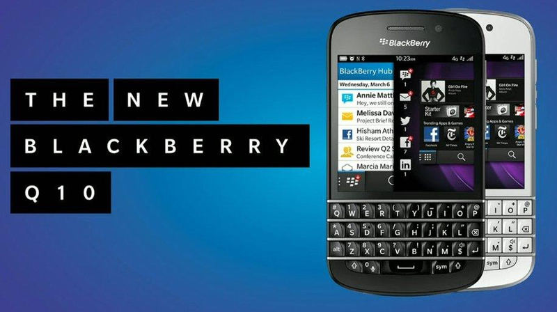 BlackBerry Q10 officially announced with a QWERTY keyboard