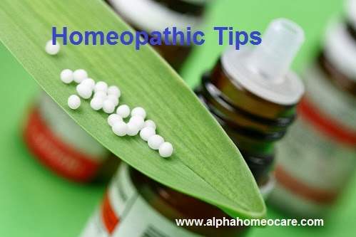 Homeopathic Tips