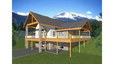 Mountain-A-Frame-House-Plans