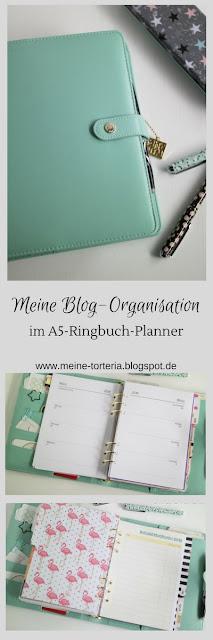 Blog-Organisation im klassischen Ringbuch-Kalender