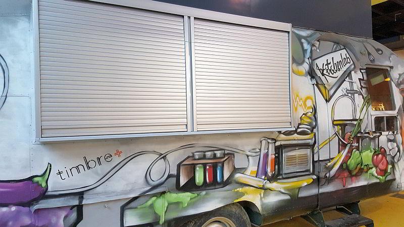 Trendy Food Truck Food