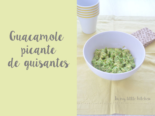 In my little kitchen: Guacamole picante de guisantes, con vídeo- Cooking the chef (Enrique Olvera)