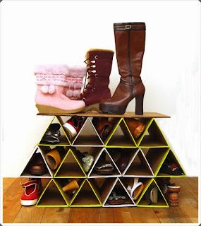 Mukavva Kutulardan Ayakkabılık Modeli Yapımı, Resimli Açıklamalı