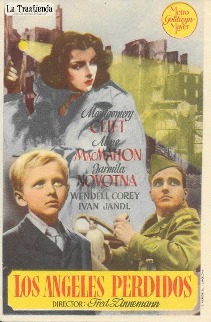 Los Angeles Perdidos - Programa de Cine - Montgomery Clift - Aline MacMahon