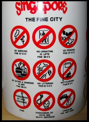 singapur strafen