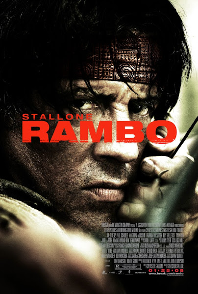 Poster of Rambo 2008 720p Hindi BRRip Dual Audio Full Movie Download