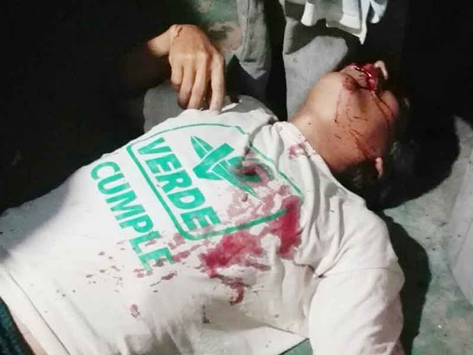 Matan a balazos a campesino