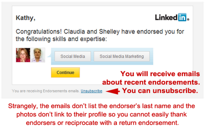 LinkedIn skills endorsements, how to learn about LinkedIn skills endorsements,