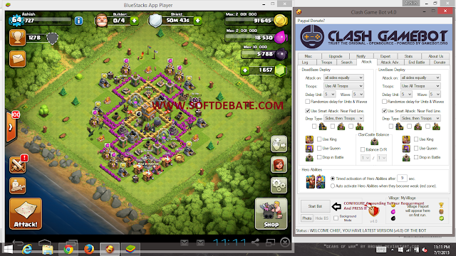 PLAY COC AUTOMATICALY