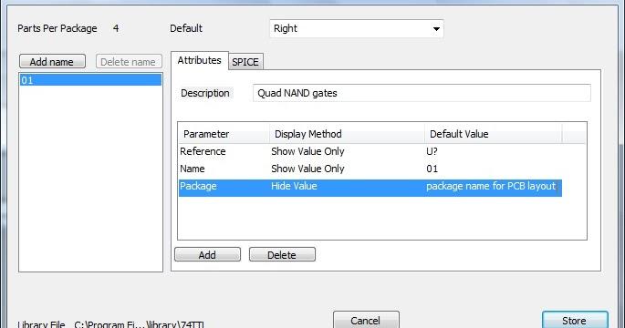 Bobo Elektronik: add package atribut to TinyCAD