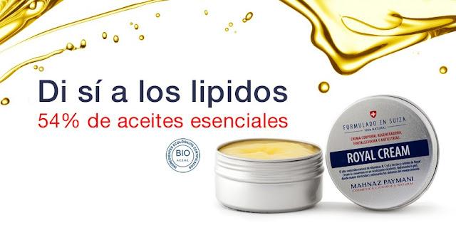 lipidos-cosmética-natural