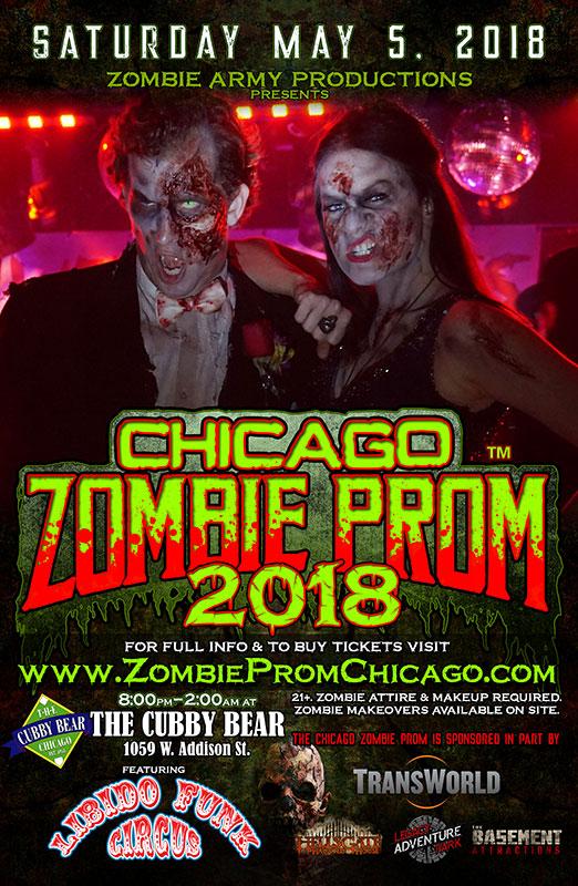 Zombie Prom Chicago 2018