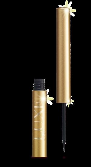 Resultado de imagem para delineador luxe avon marrom ouro