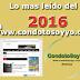 Las noticias mas leídas del 2016 en condotosoyyo.com