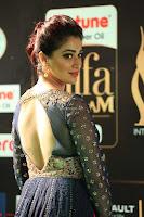 Raai Laxmi in Beautiful Backless Designer Anarkali Gown at IIFA Utsavam Awards 2017  Day 2  Exclusive 28.JPG