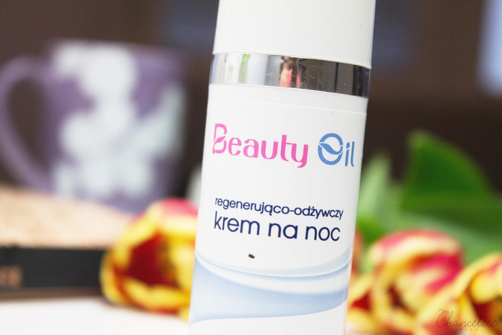 Beauty Oil regenerująco-odżywczy krem na noc