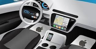 Apple iCar tecnologia self-driving