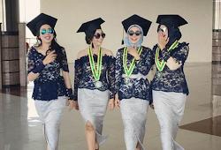 Kebaya Modern 2018 Hijab Remaja Untuk Wisuda Gamis Brokat
