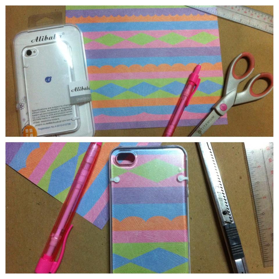 Sartorial Highness: DIY: iPhone Case