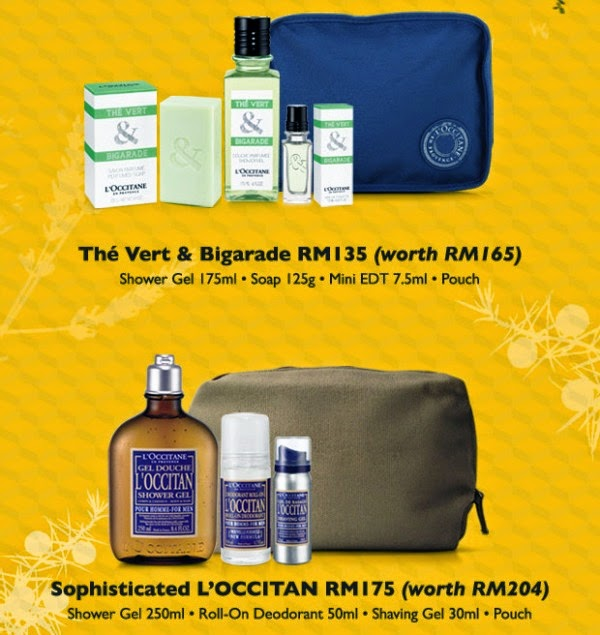 Father's Day Gift Ideas from L'Occitane, Father's Day Gift Ideas, L'Occitane, The Vert & Bigarade Set, Sophisticated L'OCCITAN Set