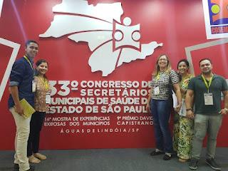 Registro-SP participa de Congresso de Secretários Municipais de Saúde do Estado e tem trabalho do CAPS selecionado para prêmio Nacional