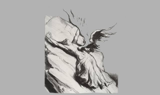 Prometheus und Adler