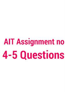 ait assignments