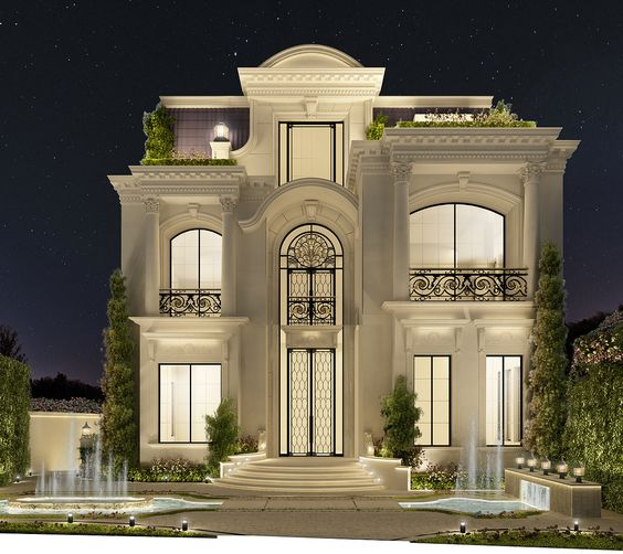 Marriage Hall Front Elevation Designs : Luxury house design decor units