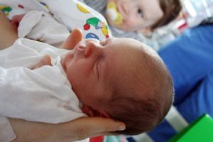 Image: Two days old baby. Photo credit: Guenter M. Kirchweger (redfloor) on FreeImages