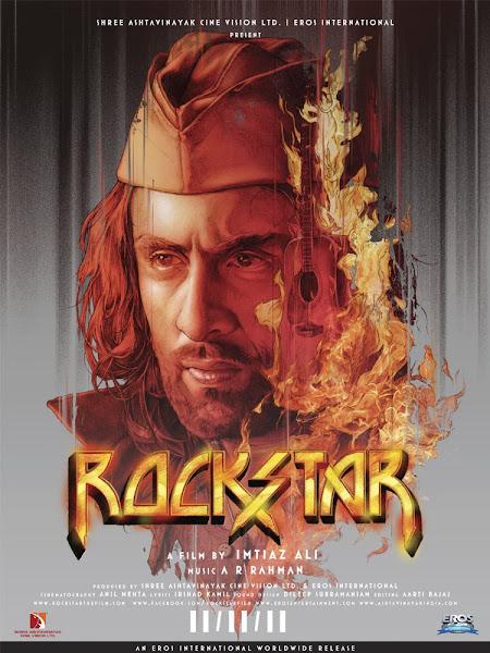 Poster of RockStar 2011 720p Hindi BRRip Full Movie Download