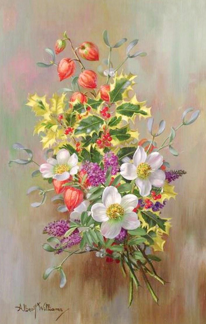 imagenes de cuadros con flores
