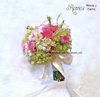 Decorador floristeria ramo de novia y damas en flores naturales garden style en guatemala