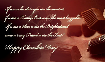 Awesome Chocolate Day Messages
