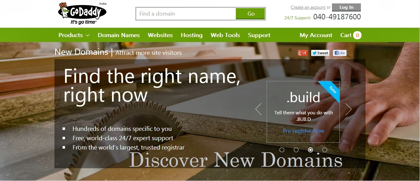Godaddy introduced  the First of the New Generic Domains, Godaddy new domain name, get the generic domain name, free domain, cheap domain, .menu .luxury .uno .bulid domains, fancy domains, Premium domains, premium domains