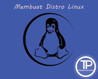 Logo Cara Membuat Distro Linux