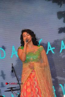 Singer Manisha Eeraini Stills in Half Saree at Nenu Local Audio Launch  0003.JPG