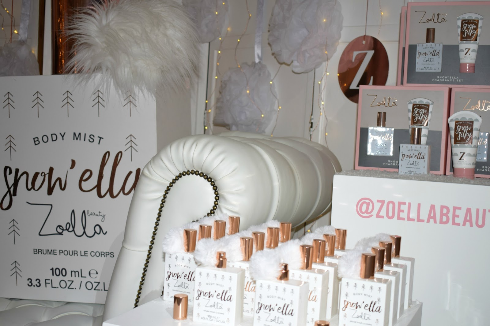Beauty &  Lifestyle- Zoella's winter wonderland and new launches