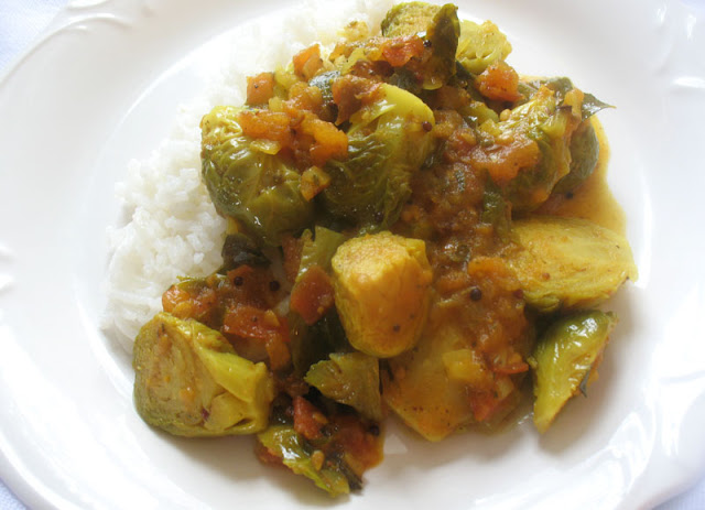 brussels sprouts curry