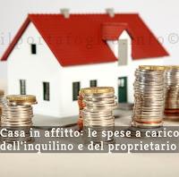 tasse e spese in affitto