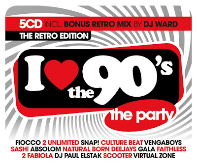 I Love The 90s The Retro Edition 2018 Mp3 320 Kbps