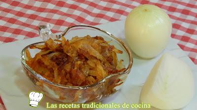 Receta fácil y rápida para hacer cebolla caramelizada sin azúcar añadido