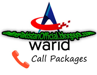 warid Daily, Weekly, Hourly, 3 Days, Monthly call packages