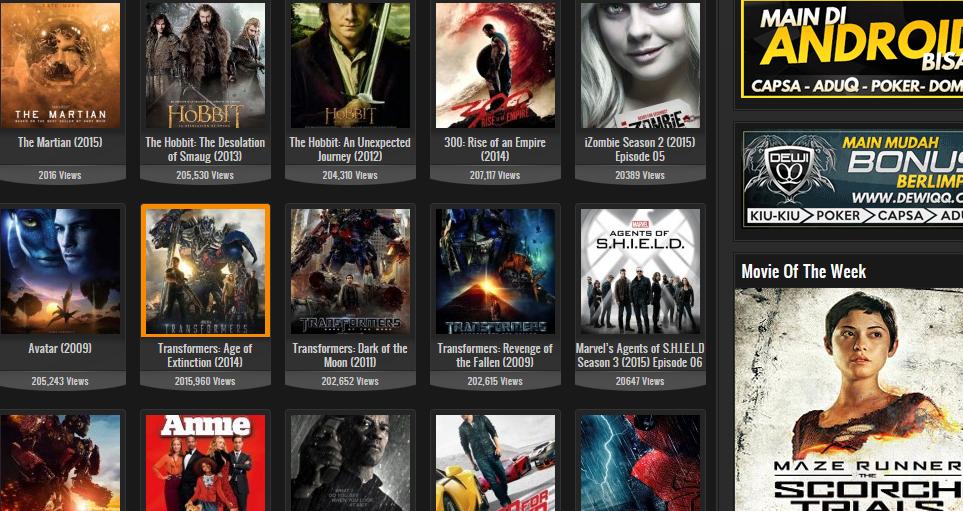 Situs tempat cari film dengan subtitle indonesia.