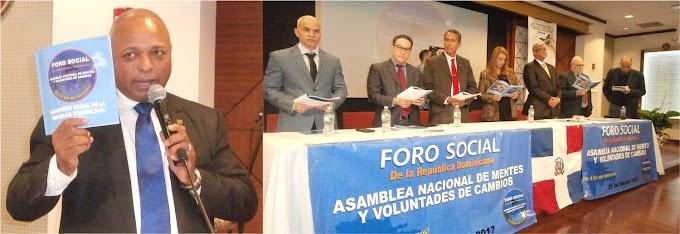 MAPA lanza en Nueva York  el Manifiesto Social de la República Dominicana invocando el cambio