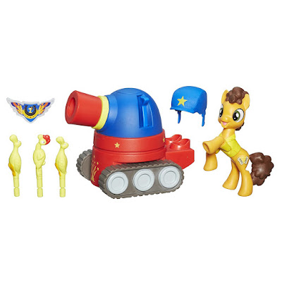 Guardians of Harmony Cheese Sandwich Pony with Party Tank