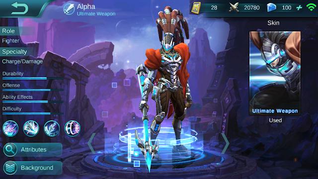 Alpha Hero Terbaik Mobile Legends