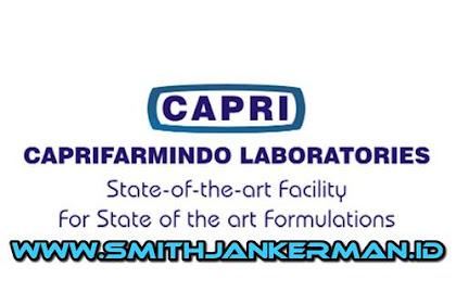 Lowongan PT. Caprifarmindo Laboratories Pekanbaru April 2018