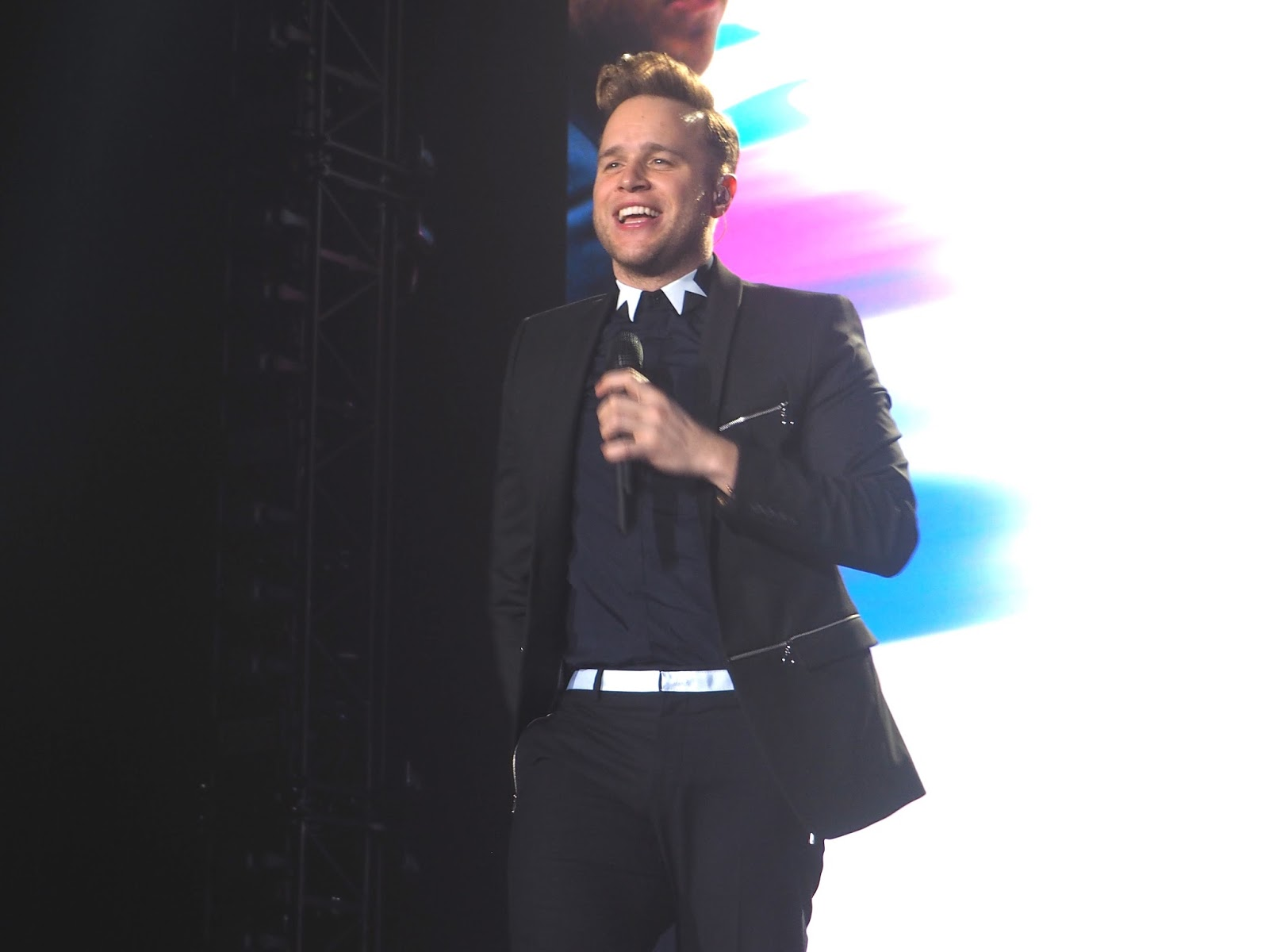Olly Murs 24hrs Tour Newcastle Arena