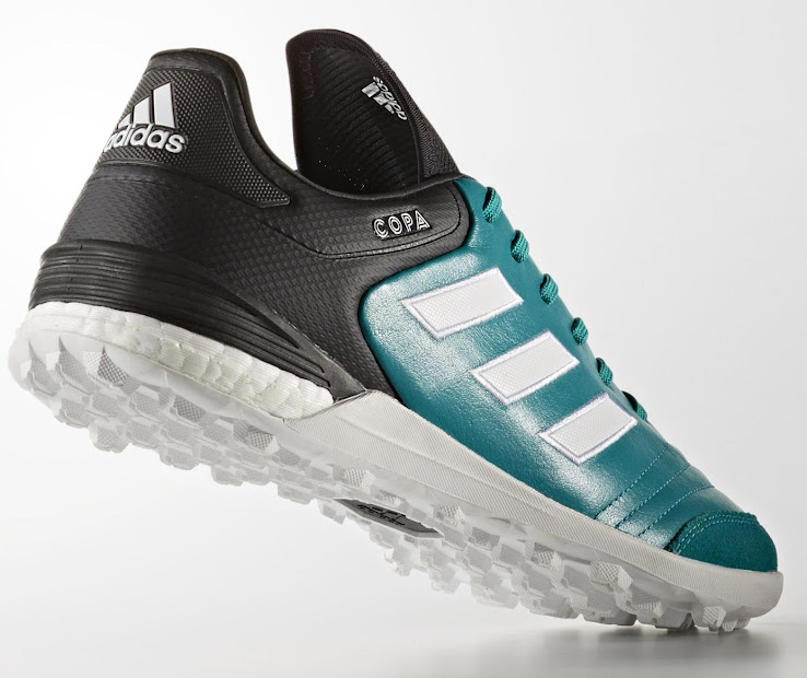 various colors 4bf78 1c8bd A colorway that is exclusive to turf grounds, the EQT Green Adidas Copa  Tango 17 boots will drop in limited quantities April 17.